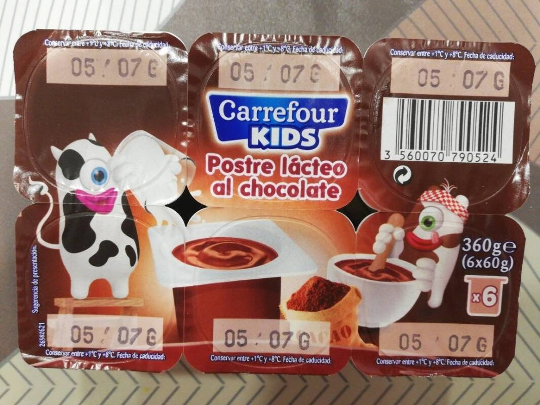 Postre lácteo al chocolate - Producto - es