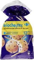 Briochettes aux pépites de chocolat au lait - Product