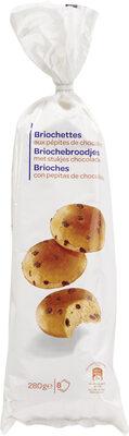 Briochettes aux pépites de chocolat - Product - fr