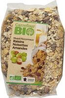 Muesli floconneux raisins noisettes amandes - Produit - fr