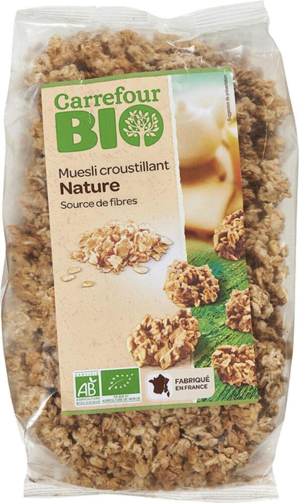 Muesli croustillant nature - Produit - fr