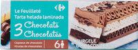 Le Feuilleté 3 chocolats - Producto