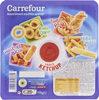 Crousti Party Goût oignon Goût bacon Goût pizza Salé Sauce Ketchup - Product