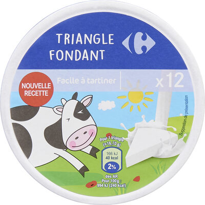 Triangle fondant - Produit - fr
