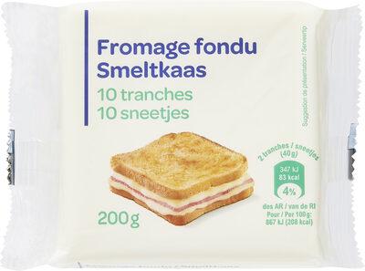 Fromage fondu en tranches - Produit - fr