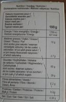 Céréales cœur fondant - Valori nutrizionali - fr