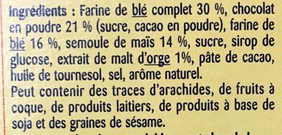 Choco Curlz - Ingrédients - fr