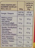 Wizzy Crisp - Informations nutritionnelles - fr