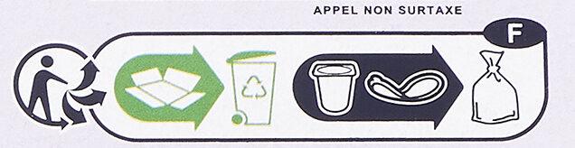 Yaourt Fruits avec morceaux 0% - Instrucciones de reciclaje y/o información de embalaje - fr
