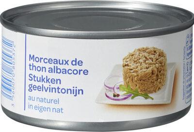 Morceaux de thon albacore - Produit - fr