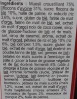 Crunchy Muesli croustillant Mûres entières, Figues & Mangues - Ingredienti - fr