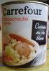 Choucroute garnie (Cuisinée au vin blanc) - Produit