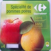 Pomme Poire Spécialité de fruits - Product - fr