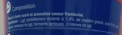 Yah! Parfum Framboise - Ingredients