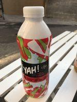 Yaourt à boire Yah!, parfum fraise - Product