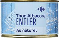 Thon albacore entier - Product - fr