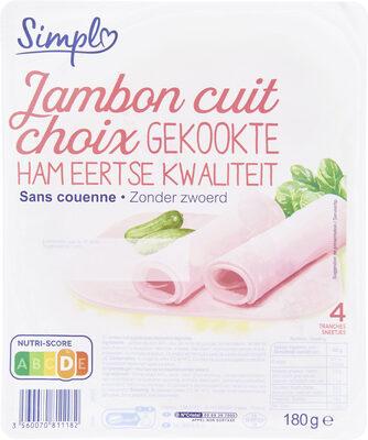 Jambon sans couenne - Product - fr
