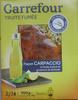 Truite fumée façon Carpaccio à l'huile d'olive et au poivre de Sichuan (5 tranches) - 100 g - Product