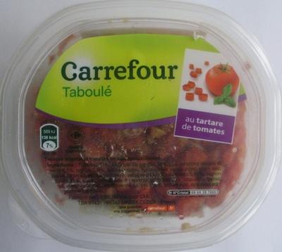Taboulé au tartare de tomate - Produit - fr