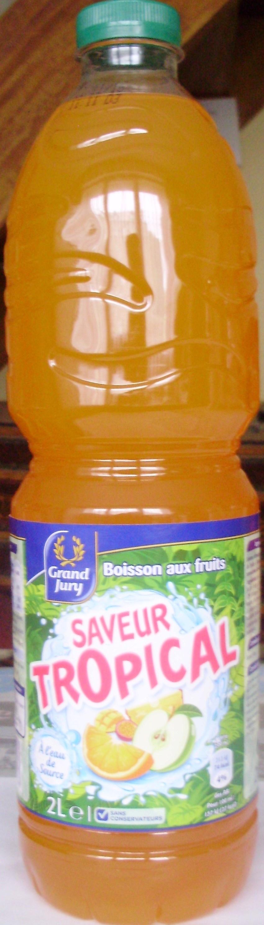 Boisson aux fruits Saveur Tropical - Produit - fr