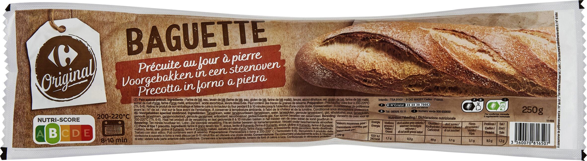 Baguette précuite - Produit - fr