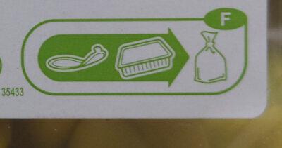 Tortellini ricotta épinard - Recyclinginstructies en / of verpakkingsinformatie - fr
