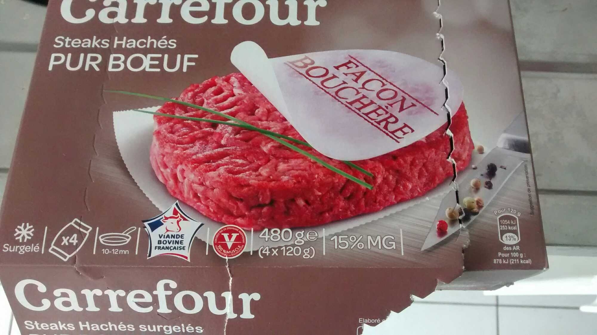 Steaks hachés façon bouchère - Product - fr