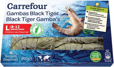 Gambas Black Tiger - Product
