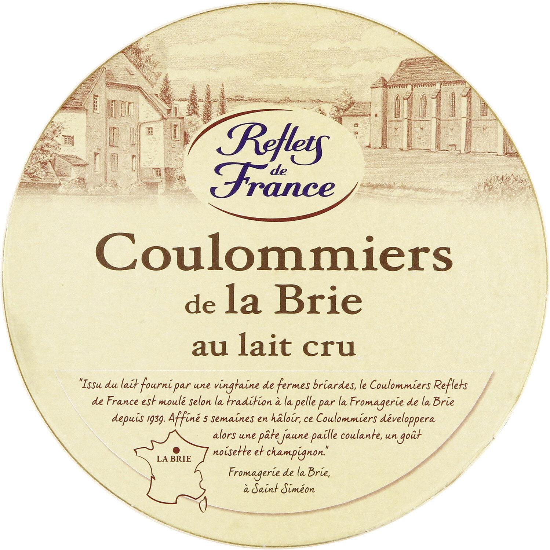 Coulommiers de la Brie au lait cru (21 % M.G.) - Product - fr