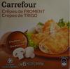 Crêpes de Froment Champignons - Product