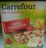Barres céréales fraise chocolat blanc - Product