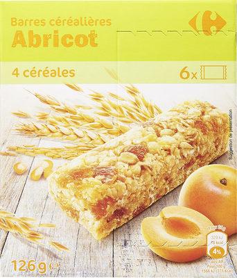 Barres Céréales Abricot - Producto - es