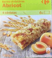 Barres Céréales Abricot - Producte