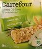 Barres céréales - pomme verte - Product
