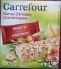 Barres céréales noisette - Product