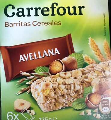 Barritas de cereales Avellanas - Producte - es