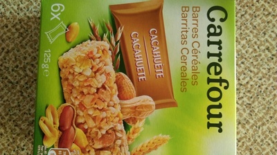 Barritas cereales Cacahuetes - Producte