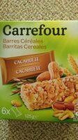 Barritas cereales Cacahuetes - Producto - es