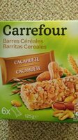 Barritas cereales Cacahuetes - Producte - es