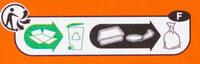Fingers de poulet - Instrucciones de reciclaje y/o información de embalaje - fr