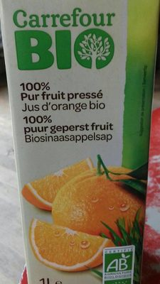 100% Pur jus pressé, Jus d'orange bio - Product