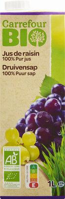 Jus de raisin 100% pur jus - Product - fr