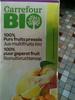 Jus Multifruits Bio 100% Purs Fruits Pressés - Produit