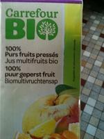 Jus Multifruits Bio 100% Purs Fruits Pressés - Product - fr