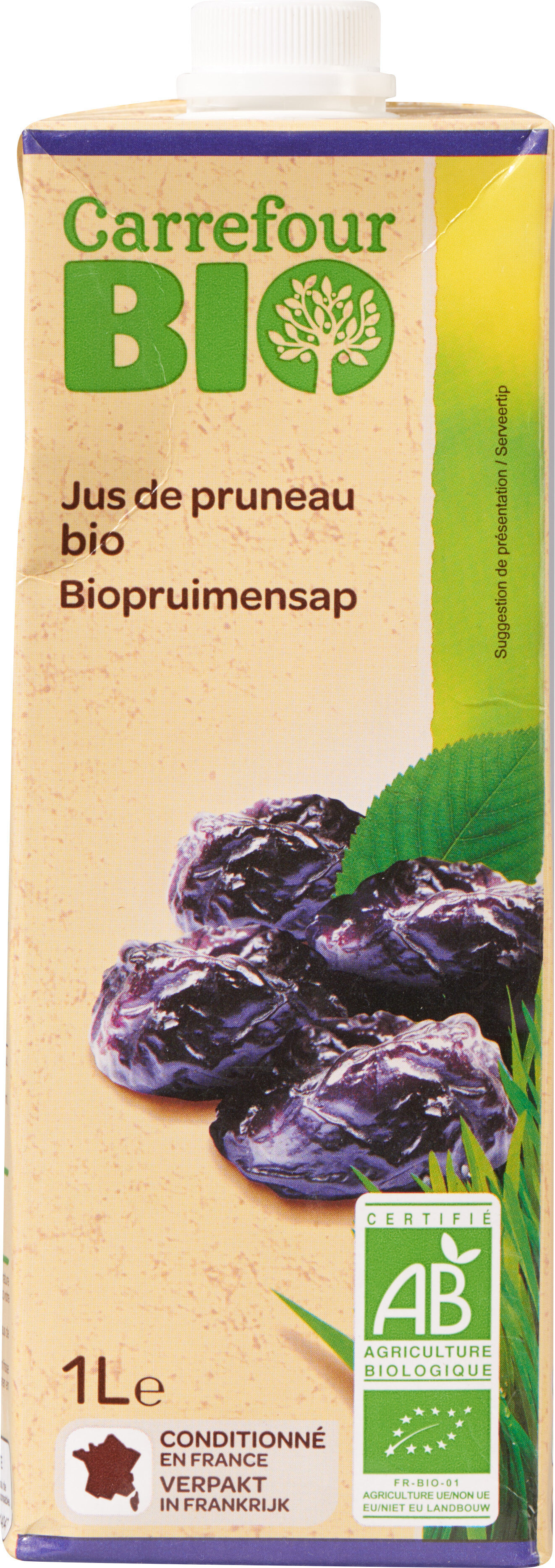 Jus de pruneau bio - Prodotto - fr