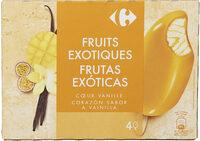 Fruits exotiques coeur vanille - Producte