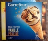 Cônes vanille praline - Produit