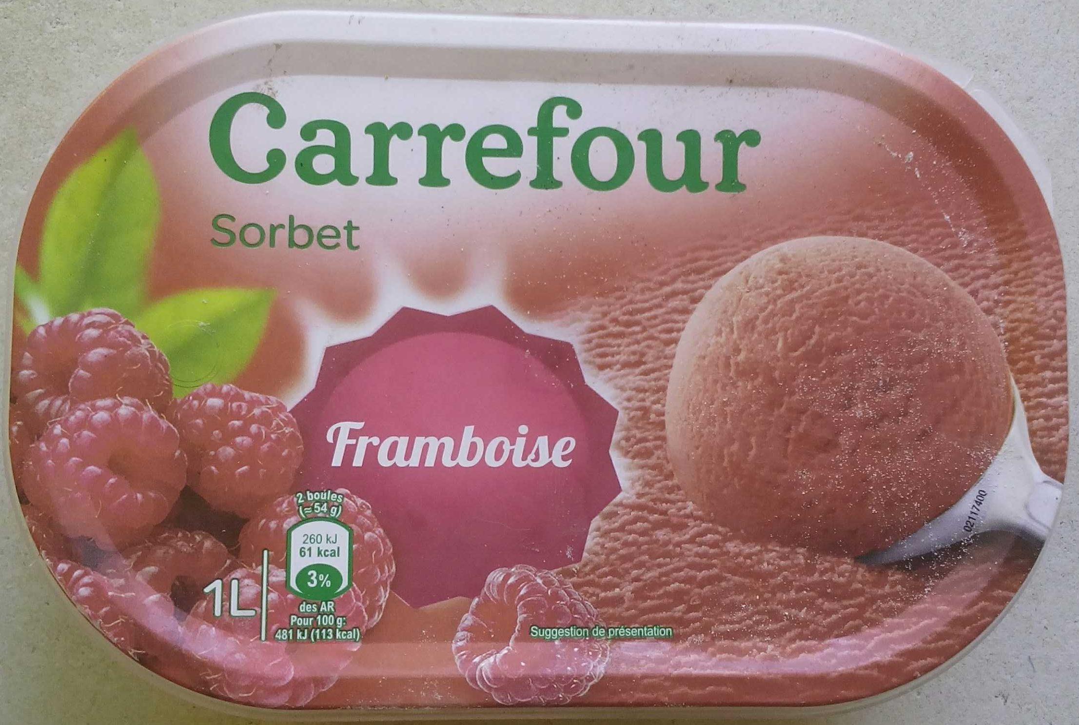 Sorbet Framboise - Product