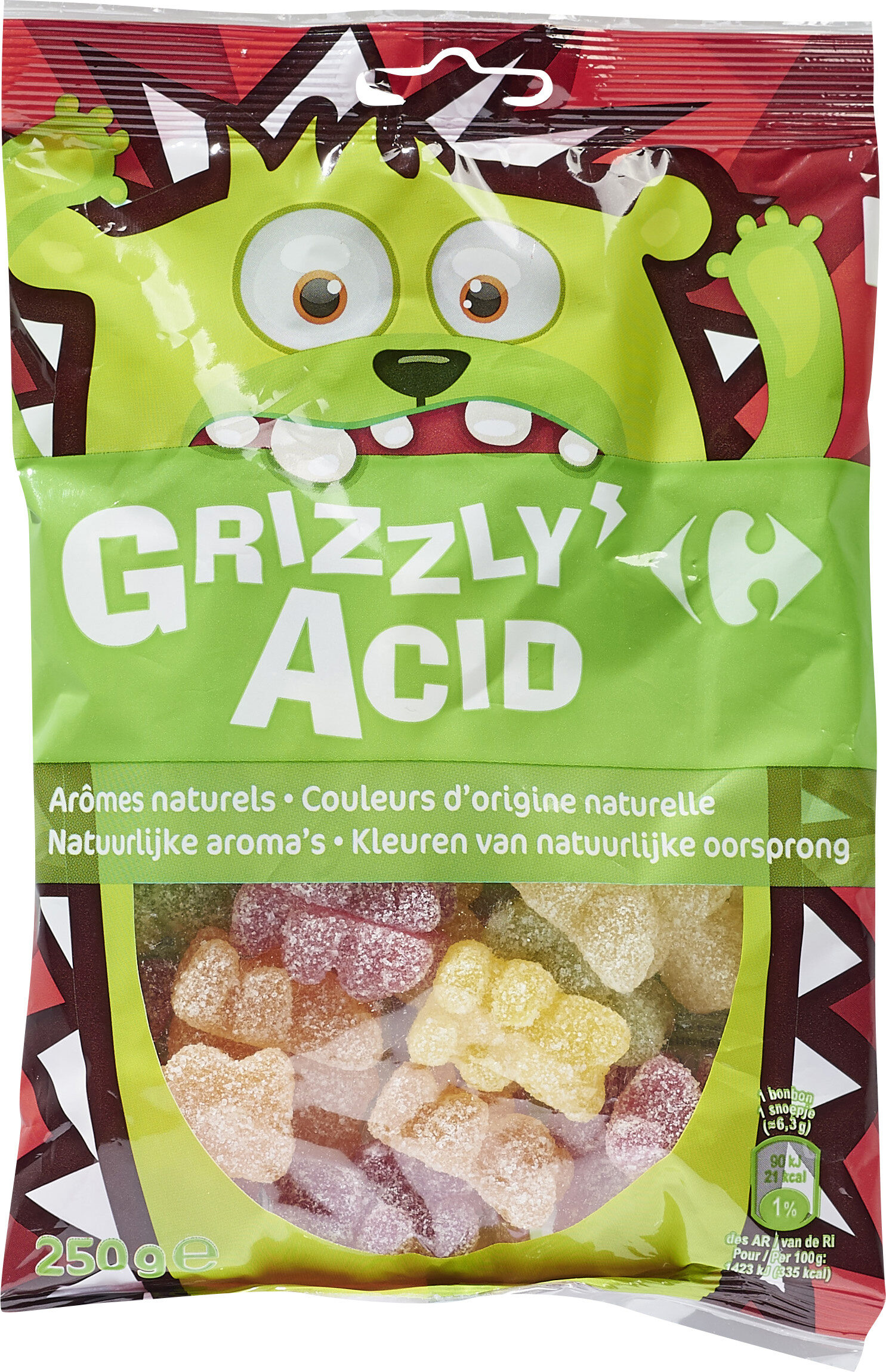 Grizzly'acid - Product - fr