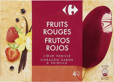 Fruits Rouges Coeur Vanille - Producte